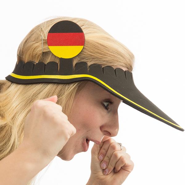Német Zászló Napellenző Sapka