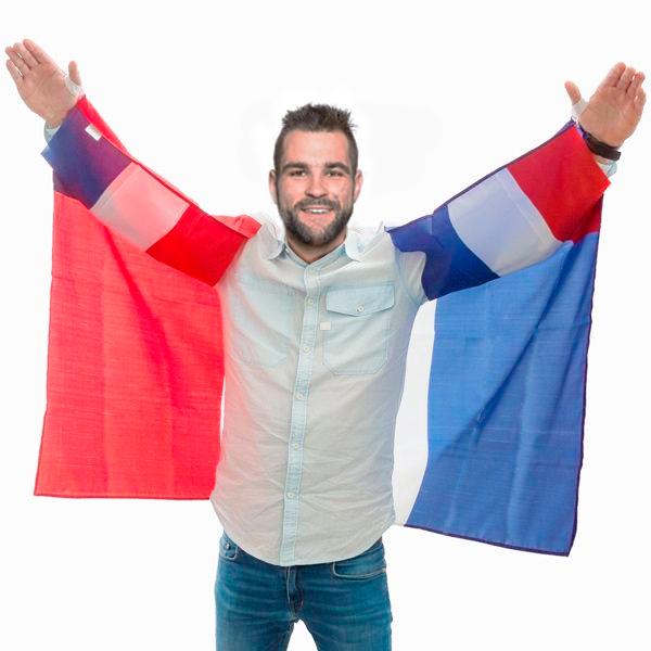 Francia Zászló Köpeny