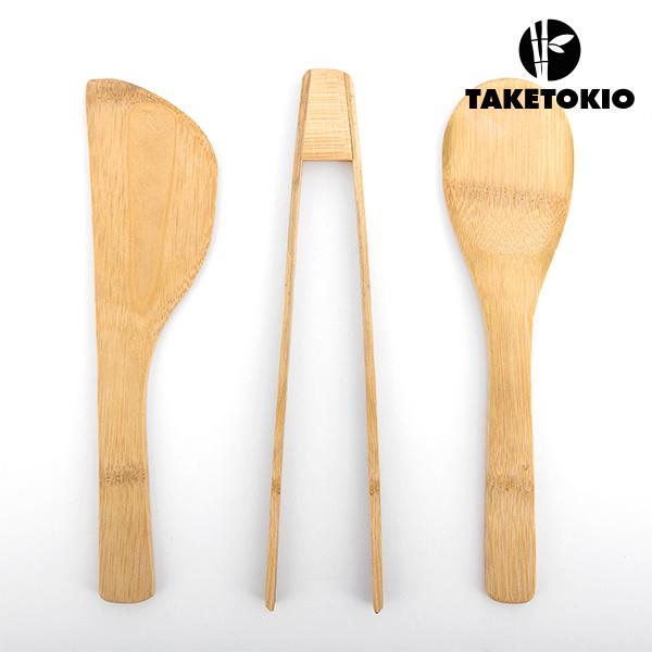 Set de Wok de Bambú TakeTokio (4 piezas) (3)