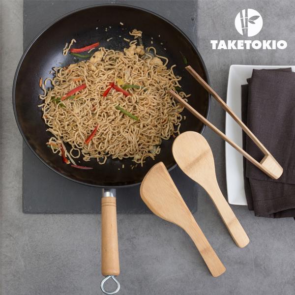 Set de Wok de Bambú TakeTokio (4 piezas) (1)
