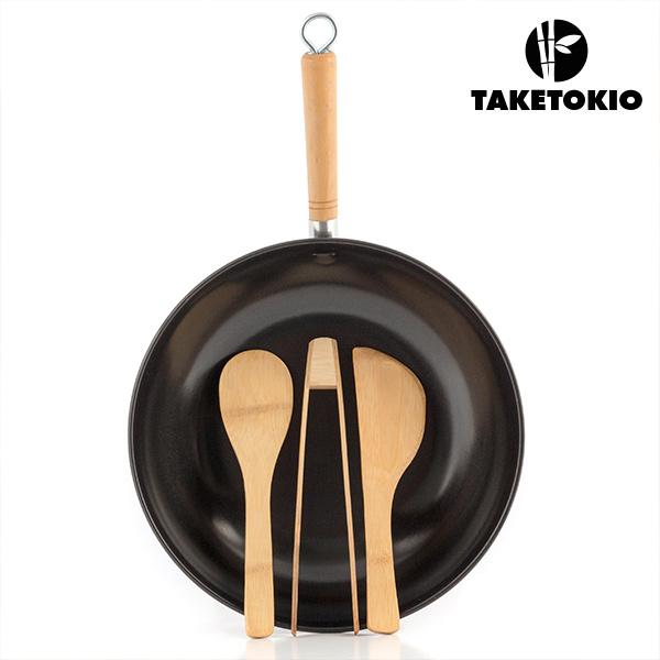Set de Wok de Bambú TakeTokio (4 piezas) (2)