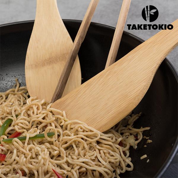 Set de Wok de Bambú TakeTokio (4 piezas)