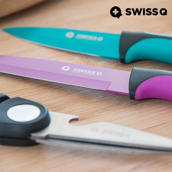 Swiss Q High Quality Rozsdamentes Acél Kések (6 darabos)