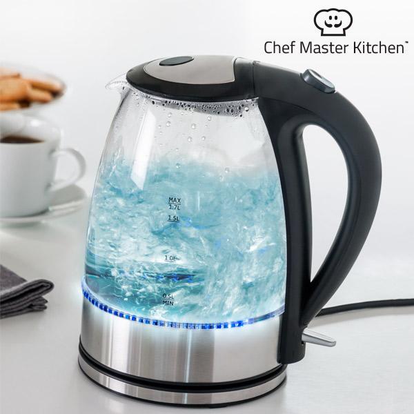 Električni Kuhalnik Vode z LED Lučko Chef Master Kitchen