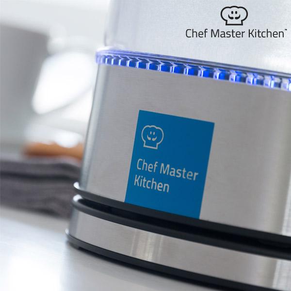 Chef Master Kitchen Elektromos Vízforraló LED-del