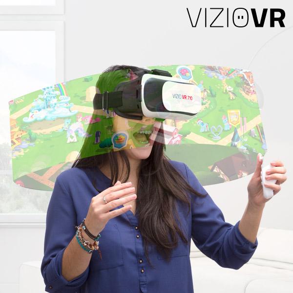 Gafas de Realidad Virtual con Mando VIZIOVR 710