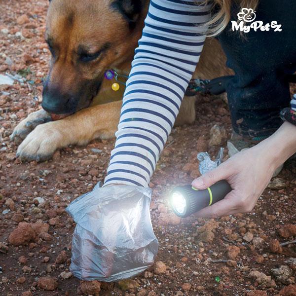 MyPet Poop Lantern Zseblámpa és Kutyapiszok Zacskótartó