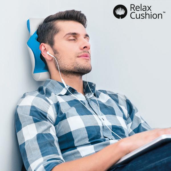 Relax Cushion Nyaktámasz Stresszoldó Párnával