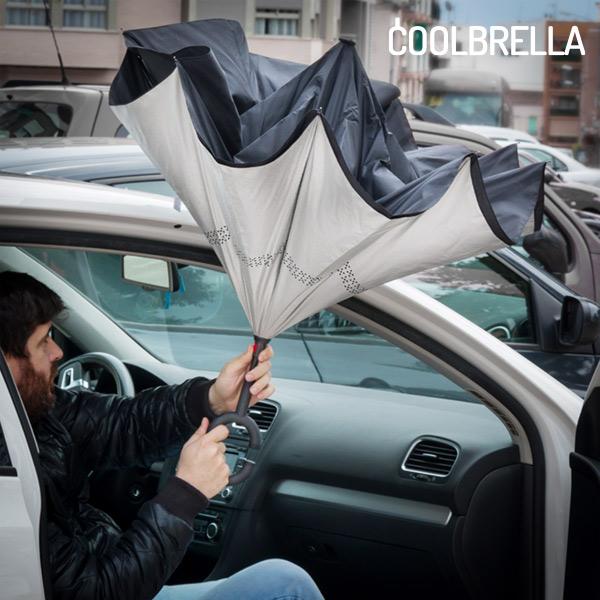 Paraguas de Cierre Inverso Coolbrella