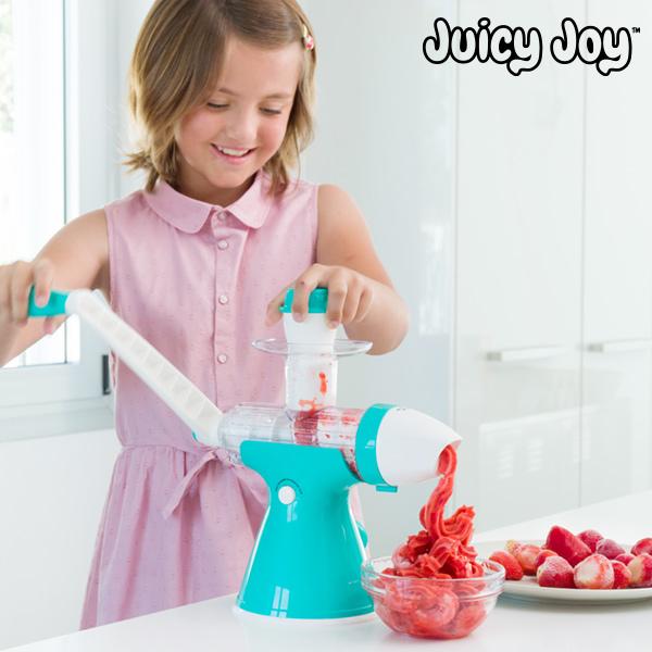Juicy Joy Gyümölcslé- és Fagylaltkészítő Gép Karral