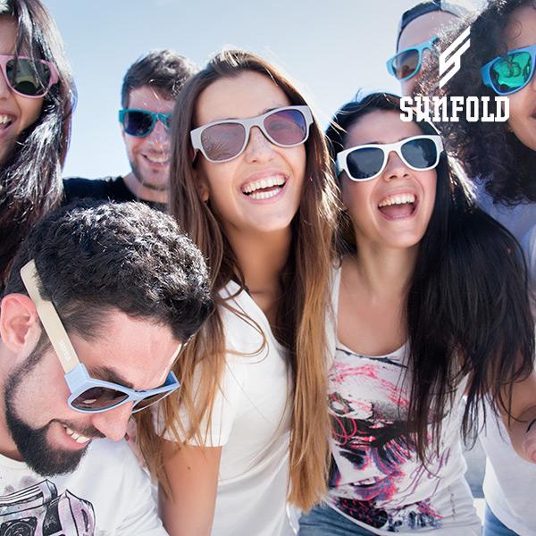 Összecsukható napszemüveg Sunfold ES3