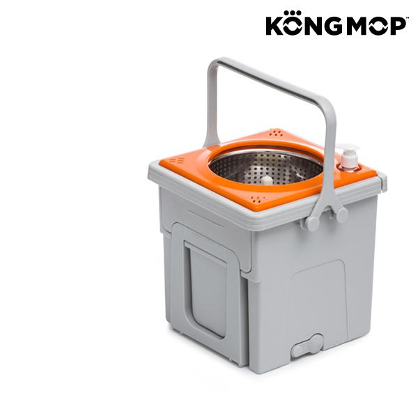 Kong Mop Easy forgó felmosó gurulós vödörrel
