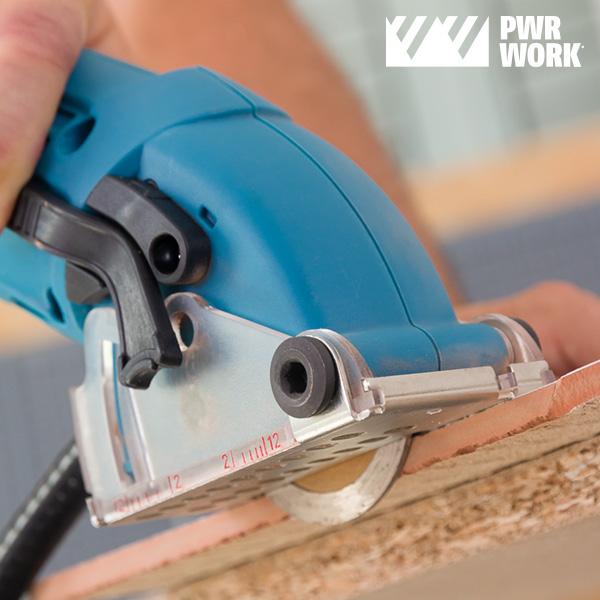 Scie Circulaire Compacte All-Materials Mini Saw PWR WORK