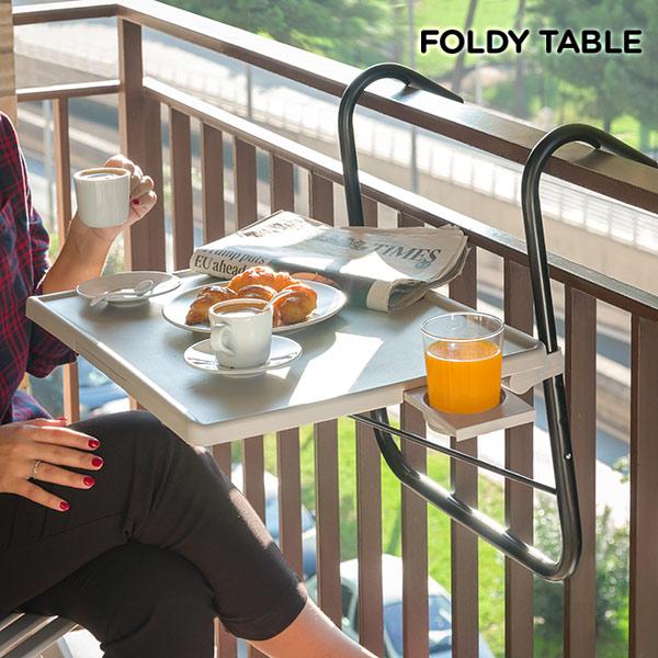 Mesa Plegable para Balcón Foldy Table B
