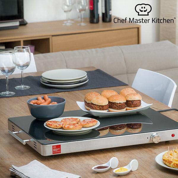 Chef Master Kitchen Serie S Ételmelegítő Tányér 400W