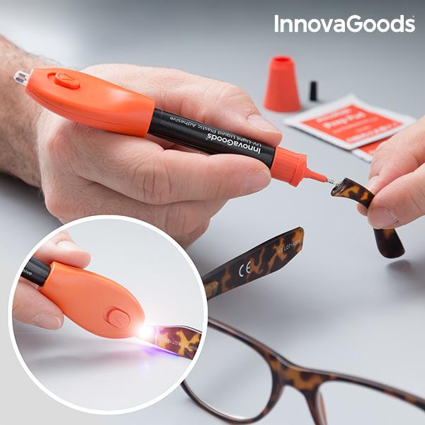 InnovaGoods Folyékony Műanyag UV Pillanatragasztó