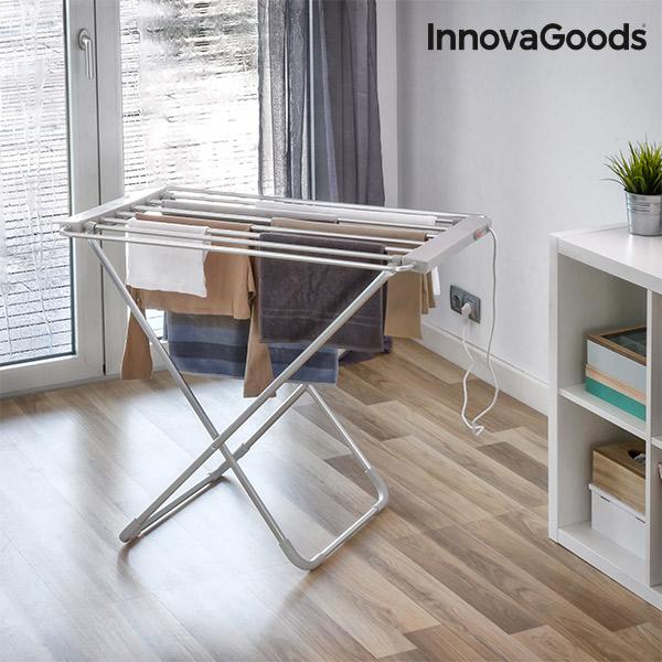 InnovaGoods 100W Gris Összecsukható Elektromos Szárító (6 Bár)