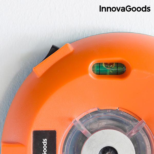 InnovaGoods Porgyűjtő Fúráshoz Vízmértékkel és Lézerjelölővel