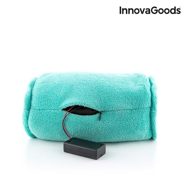 Cojín Masajeador Cilíndrico InnovaGoods (4)