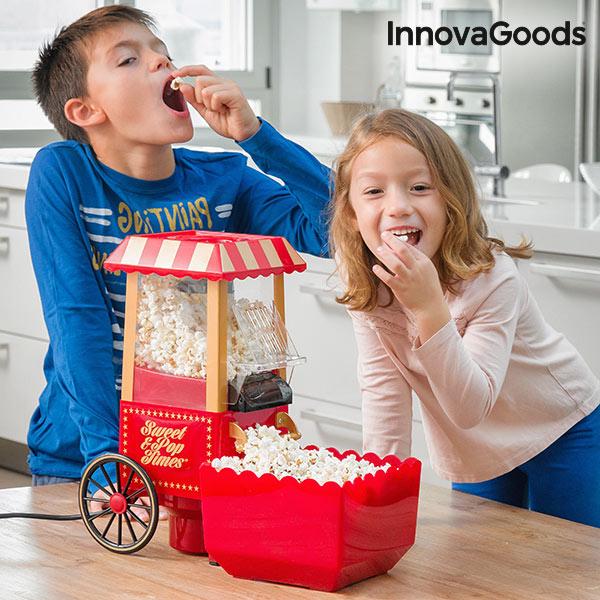 InnovaGoods 1200W Popcorn gép Piros