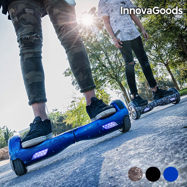 Patinete Eléctrico Hoverboard InnovaGoods