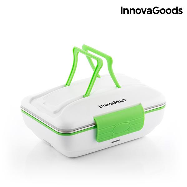Električna Termo Posoda za Hrano Pro InnovaGoods 50W Belo Zelena