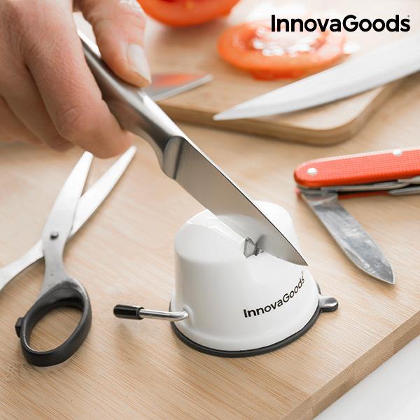 InnovaGoods Affilacoltelli con Ventosa InnovaGoods