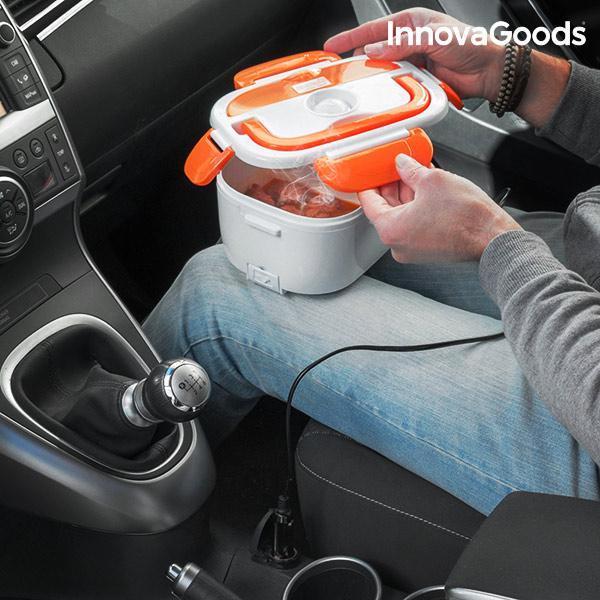 Elektromos Autós Ételtartó 40W 12 V Fehér Narancssárga