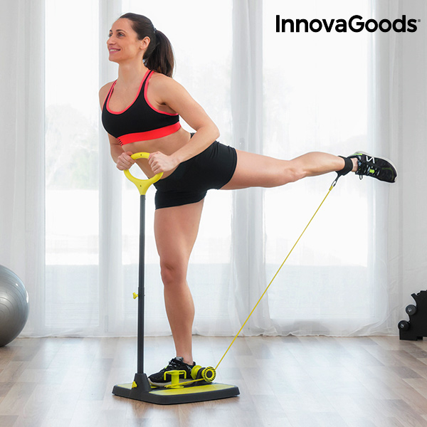 InnovaGoods Fitness Platform for Glutes and Legs with Exercise Guide