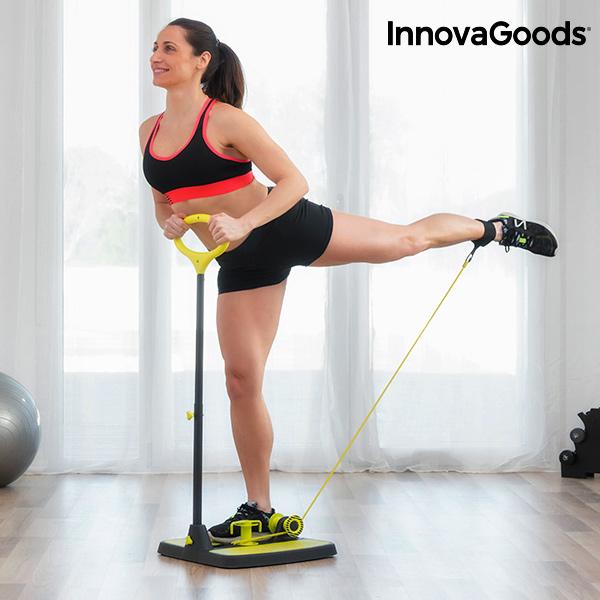 Plateforme de Fitness pour Fessiers et Jambes avec Guide d'Exercices InnovaGoods
