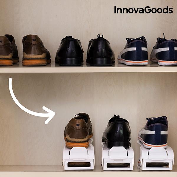 Állítható Cipőtartó (6 Pár cipőhöz)