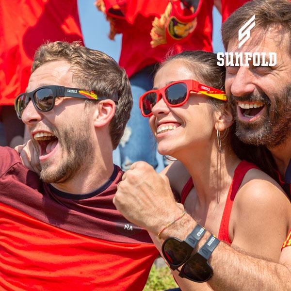Sunfold Világ Spain Red Összehajtható Napszemüveg