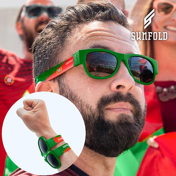 Sunfold Világbajnokság Portugal Feltekerhető Napszemüveg