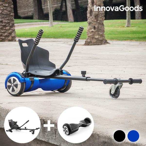 Hoverkart + Hoverboard Csomag |Elektromos fekete hoverboard -