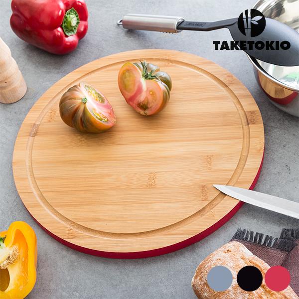 TakeTokio Kerek Bambusz Vágódeszka