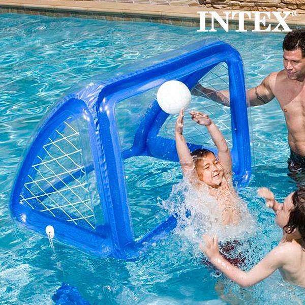 Portería hinchable con pelota intex | CasayTextil