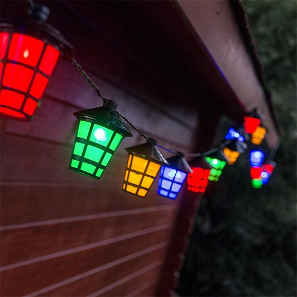 Lámpások LED Girland