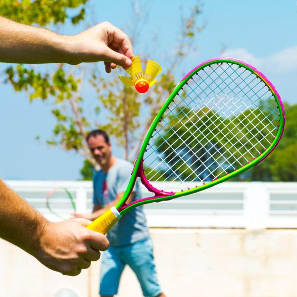 Set za Nočni Badminton (6 kosov)