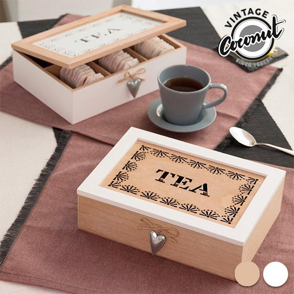 Vintage Teafiltertartó Doboz