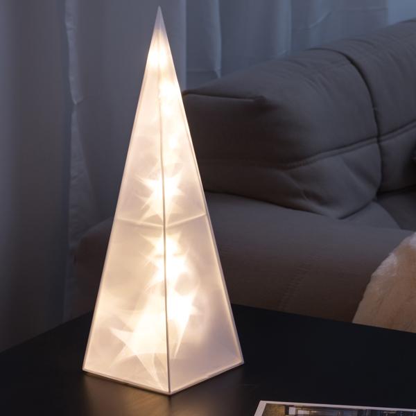 Dekoratív Piramis (16 LED)