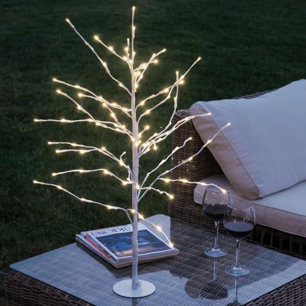 Dekoratív Hófödte Fa (112 LED)