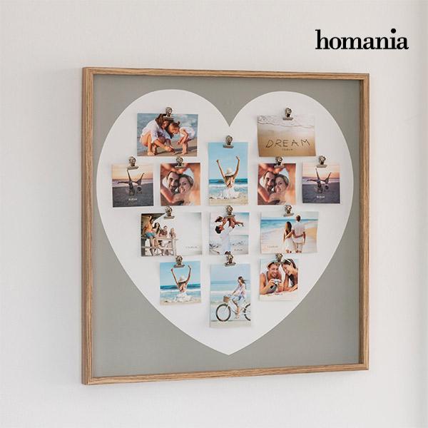 Portafoto Pink Heart con Mollette Homania (13 foto)