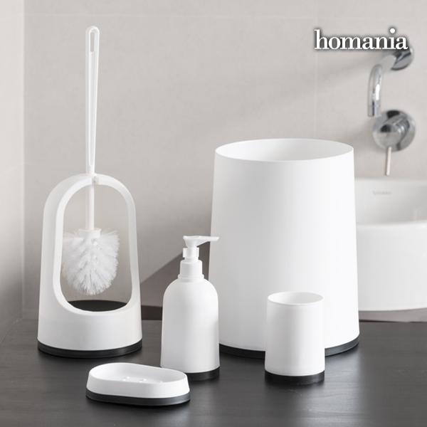 Homania Accessori per il Bagno Black & White Homania (5 pezzi)