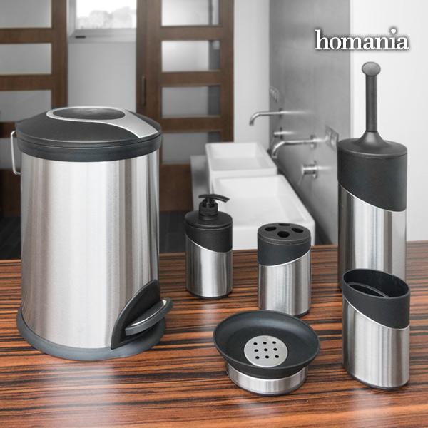 Homania Accessori per il Bagno Inox Homania (6 pezzi)