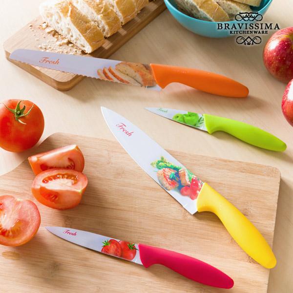 Bravissima Kitchen Fresh Kerámiakések (4 darab)