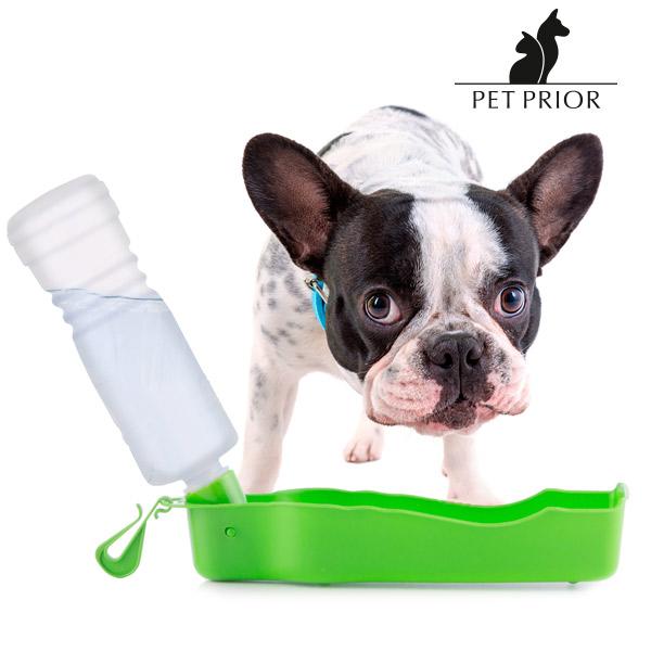 Borraccia Portatile con Ciotola per Animali Domestici Pet Prior 7569000772834  02_V0200950