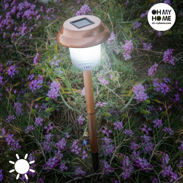 Garden Oh My Home Copper Napelemes Lámpa