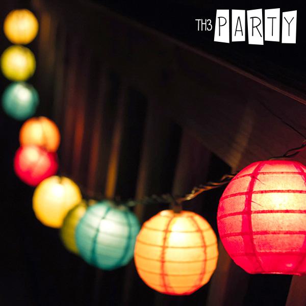 Th3 Party Összehajtható LED Lampionok (8 darab)