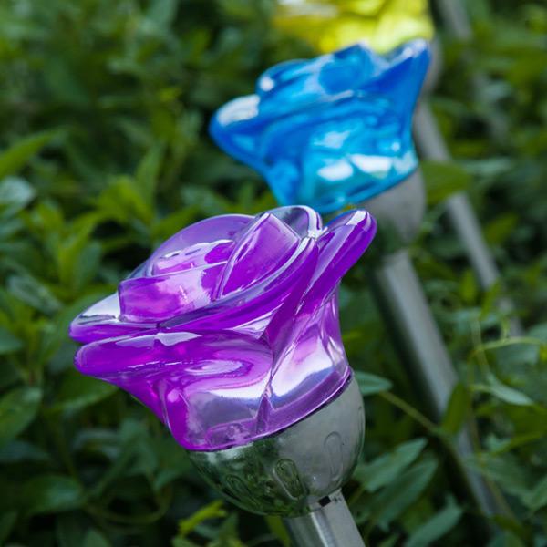Lámpara Solar Flower Oh My Home (2)