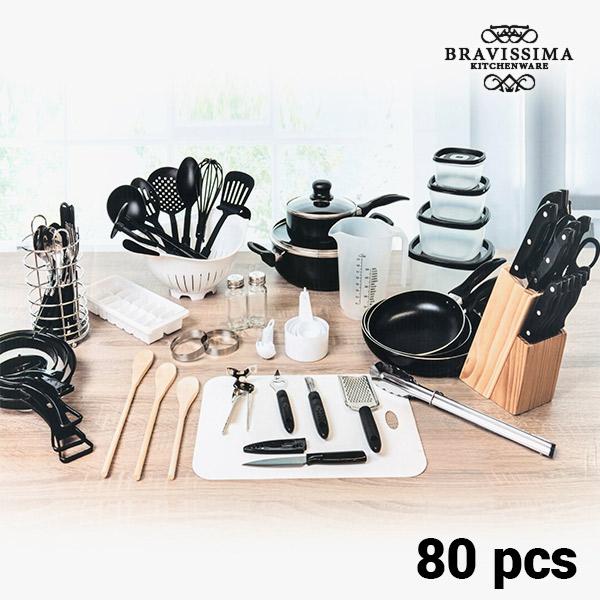 Bravissima Kitchen Konyhai Készlet (80 darabos)